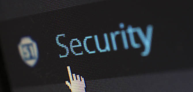 Keep on top of business data security