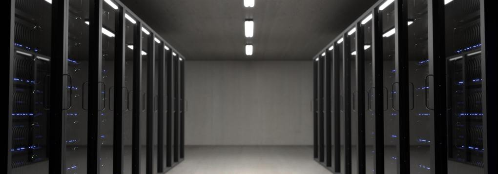 A server room representing your digital footprint